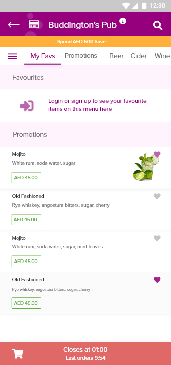 VTab Mobile App