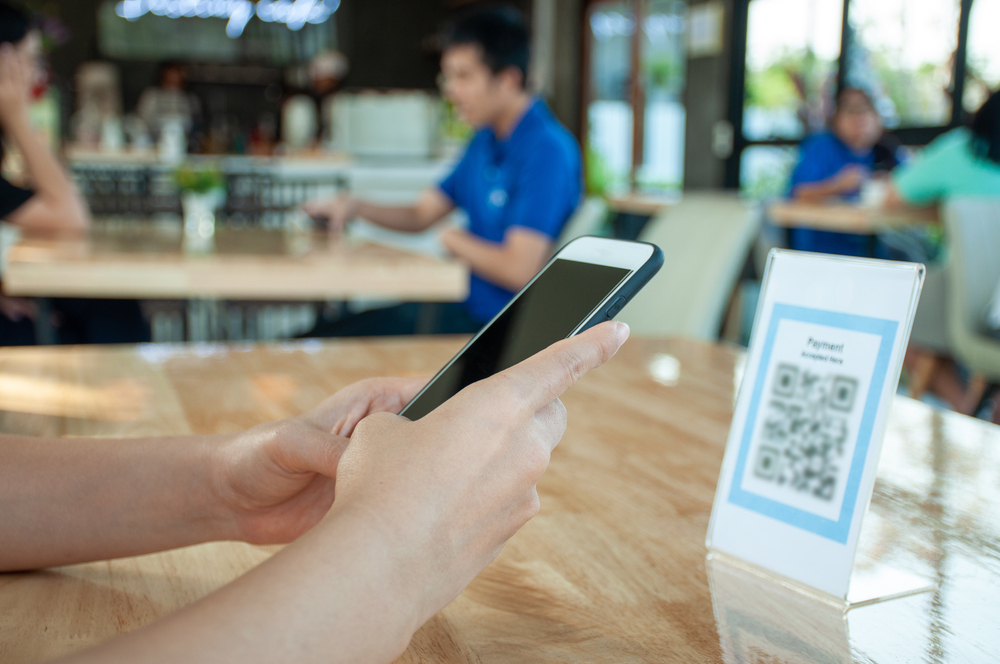 Contactless food ordering